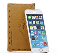 Personalized Fashion Envelope PU Leather Case for iPhone 6 Plus