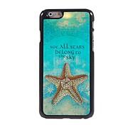 Stars Pattern Aluminum Hard Case for iPhone 6 Plus