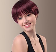 Specific Character Short Straight Hair Wigs with Full Bang