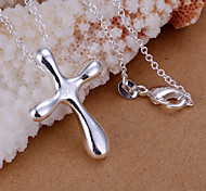 Charming Silver  CrossShape Women's Pendents