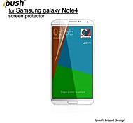 hohe Transparenz HD-LCD-Display-Schutz mit Putztuch für Samsung-Anmerkung 4