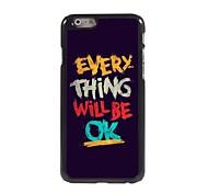 каждая вещь будет нормально шаблон жесткий алюминий случай для IPhone 6