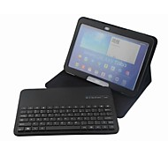 Detachable Wireless Bluetooth Keyboard Leather Case For Samsung Galaxy Tab3 10.1 P5200 (Assorted Colors)