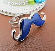Korean Version Moustache Magic Mood Ring