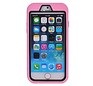 Drop Resistance PC+Silicone Case for iPhone 6 (Assorted Colors)