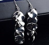 2015 Smooth Surface Scales Are Multi-Level Diamond Earrings