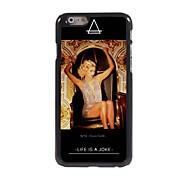 I Love Gold Design Aluminum Hard Case for iPhone 6