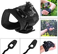 """gatto grasso montaggio palmo della mano rotativo 360 m-RP """"per GoPro / sj4000 / sj5000 - nero"""