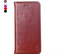 iPhone 7 Plus 5.5 Inch Genuine Leather Wallet Leather Case for iPhone 6s 6 Plus