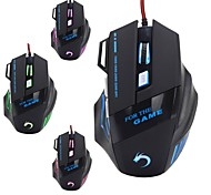 MODAO W28 7 Key High Performance USB Wired Gaming Mouse for Gamer 3200DPI