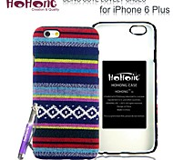 HOHONG ®Lovely Chinese Ethnic Clothing Pattern Design Case for iPhone 6 Plus 5.5""