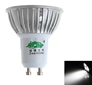 3W GU10 Lâmpadas de Foco de LED MR16 3 LED Dip 280-300 lm Branco Natural Decorativa AC 85-265 V