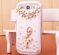 Diamant-Ballerina Mädchen Hülle für Samsung i9300 Galaxy S3