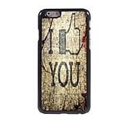 i admiro caso duro del patrón de aluminio para el iPhone 6 Plus