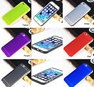 TPU + PC Soft transparentes Gehäuse für iphone 6 6plus (verschiedene Farben)