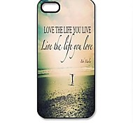 Sunset Beach Pattern Hard Case for iPhone 4/4S