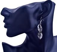 Lureme®Fashion Glitter splayed Earring
