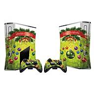 Xbox 360 Slim Konsole Schutzaufkleber Deckhaut Controller Hautaufkleber