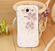 For Samsung Galaxy Case Rhinestone / Transparent / Pattern Case Back Cover Case 3D Cartoon PC SamsungS7 edge / S7 / S6 edge plus / S6