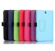 7 Inch Two Folding Pattern Lichee Case for Lenovo A7-50(A3500-HV)(Assorted Colors)