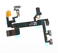 Power Mute Volume Button Switch Connector Flex Cable Ribbon iphone 5S