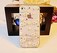 Bow-tiet with  Pearl Hard Back Cover  for iPhone 4 / iPhone 4S