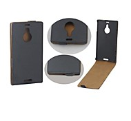 Protective PU Leather Magnetic Vertical Flip Case Cover Shell Protector for Nokia Lumia 1520