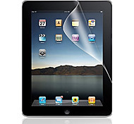 Professional High Transparency LCD Crystal Clear Screen Protector with Cleaning Cloth for iPad 1