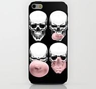 cráneo sopla burbujas caso duro del patrón para el iphone 6