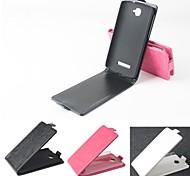 vendita calda cassa di cuoio dell'unità di elaborazione del cuoio di vibrazione 100% per Alcatel One Touch pop C7 (colori assortiti)