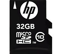 HP 32GB MicroSDHC Class10 Flash Memory Card
