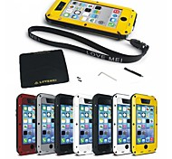 New Love Mei Antichoc Etanche Robuste Protection Metal Case for iPhone 5C(assorted color)