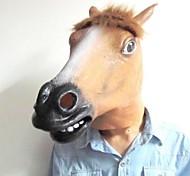 masque populaire de tête de cheval de latex pour Halloween (couleurs assorties)