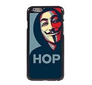 Hop Mask Design Aluminum Hard Case for iPhone 6 Plus