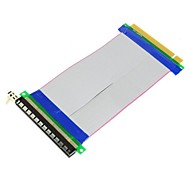 PCI-E Express 16X to 16x Male to Female Riser Extender Card Ribbon Cable 20cm