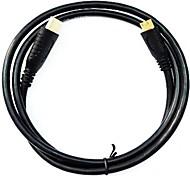 cabo de alta definição universal micro HDMI para GoPro hero3 e outros dispositivos