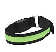 LED Light Arm Band Strap Armband Green  (2xCR2032)
