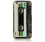 Retro Tape Pattern TPU Soft Case for  iPhone 6 Plus