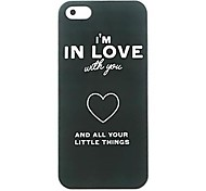 In Love Pattern hard Case for iPhone 6