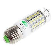 zweihnder e27 6w 600lm 6500k 59 x SMD 5050 llevó la lámpara de luz de maíz de luz blanca (CA 220V)