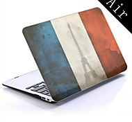 francia bandiera design del case in plastica protettiva per tutto il corpo per 11-inch / 13-inch MacBook Air New
