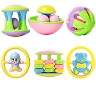 Multi-shape Kids Baby Ring Bell Toys