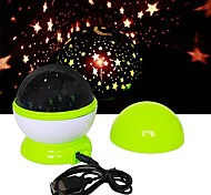 USB Starry Sky LED Projection Lamp Night Light (Random Colors)