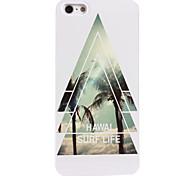 estuche rígido de aluminio de la vida de surf Hawal para el iphone 5 / 5s