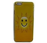la contraportada dura hermoso sol de plástico para el iPhone 6 Plus