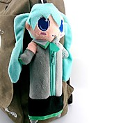 Bag Inspired by Vocaloid Hatsune Miku Anime/ Video Games Cosplay Accessories Bag Blue Polar Fleece Male / Female