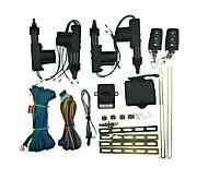 Remote Control Central Door Lock Set - Black (4-Lock)
