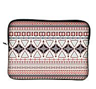 """Huado® 10""""12"""" H65887 Bohemian Geometric Shapes Pattern Laptop Case"""