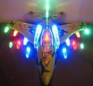 Electric F16 flash music combat aircraft