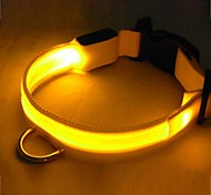 Cool Luminous Safety LED Flash Collar for Dogs(Assorted Size,Assorted Color)